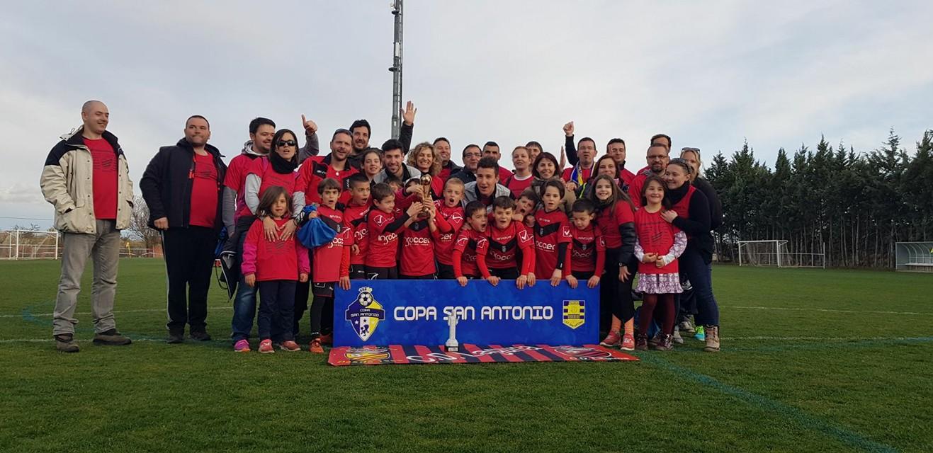 El Prebenjamín A del C.D Laguna se proclama vencedor de la Copa San Antonio 2018