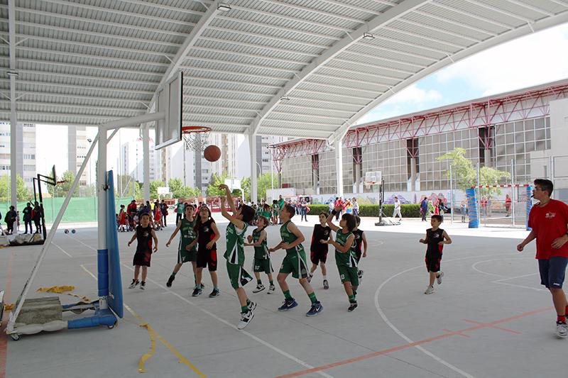 El Día Nacional del Baloncesto atrae a 900 jugadores de Castilla y León y Madrid