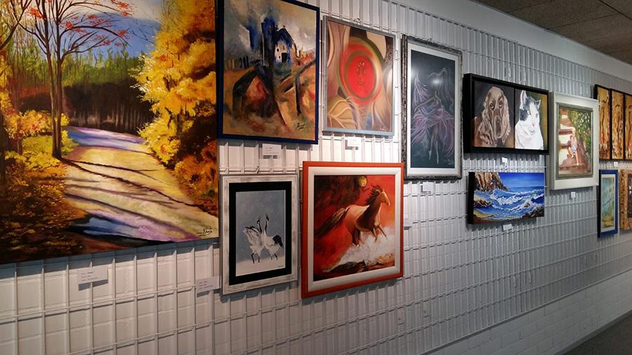 Alumnos de pintura exponen sus obras del 18 al 23 de Junio