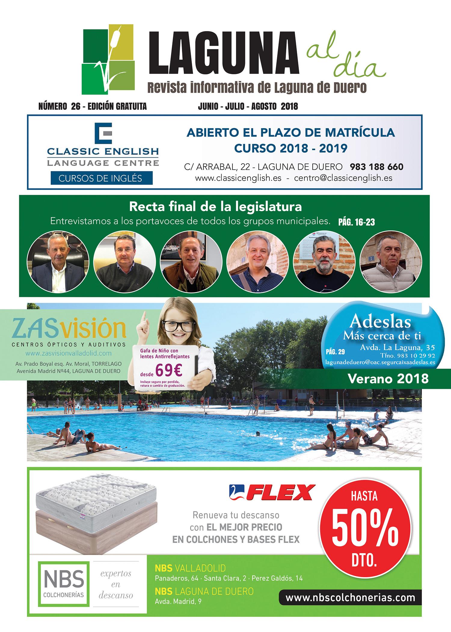 Portada de la vigésimocuarta edición de la revista Laguna al Día