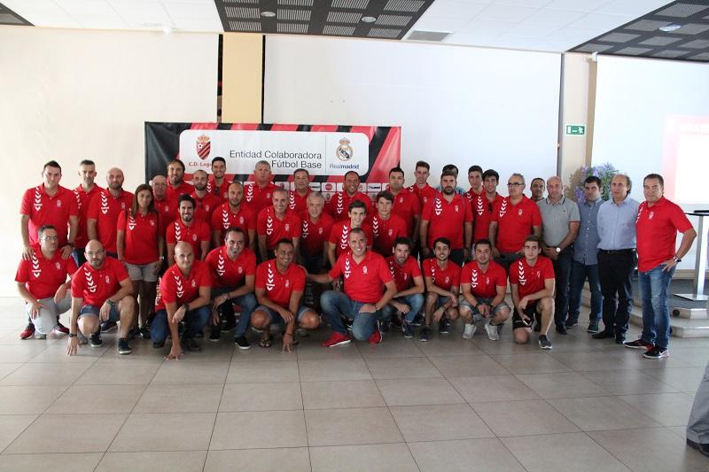 El C.D. Laguna presenta su proyecto social y deportivo