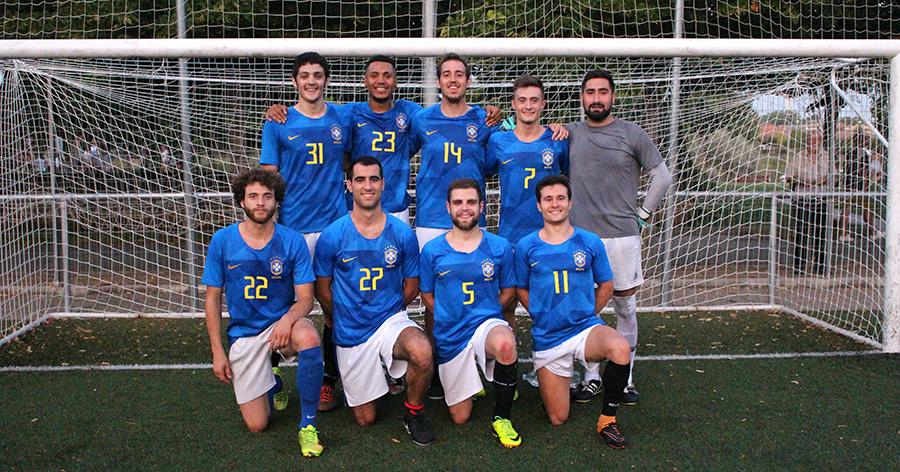 'Los hijos de la Mari Luz', de nuevo campeones en el torneo de Fútbol 7 de peñas