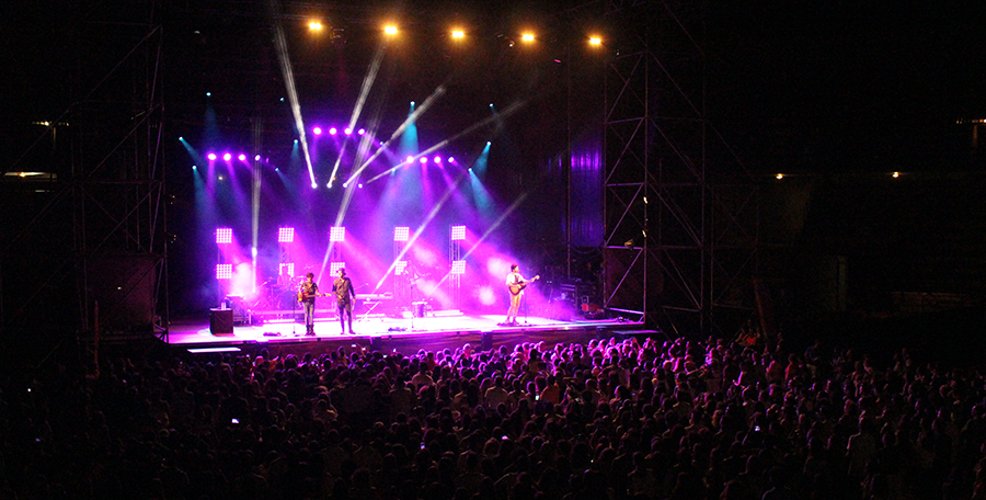 Laguna se rinde al folk pop de 'Morat'