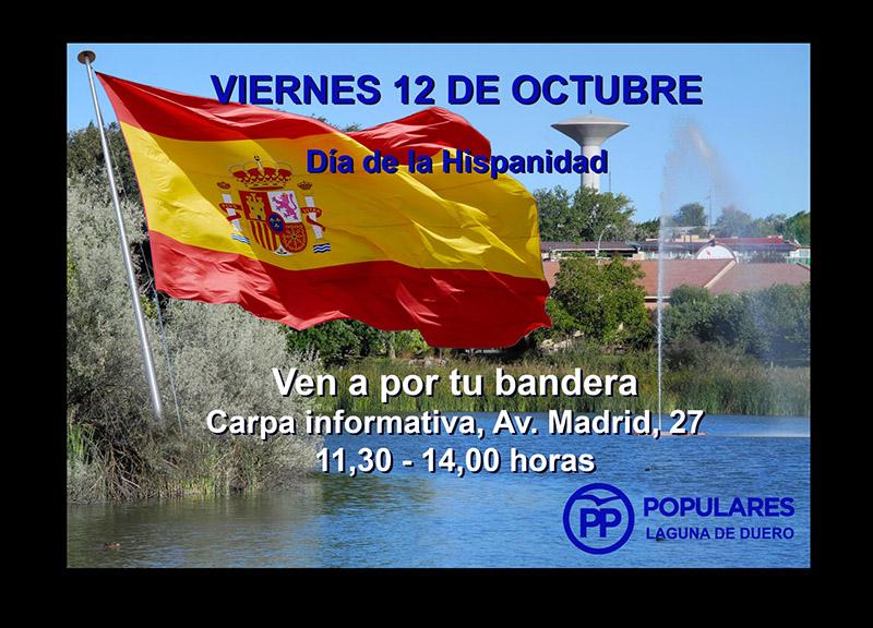"""El PP de Valladolid celebra en Laguna """"El Día de la Hispanidad"""""""