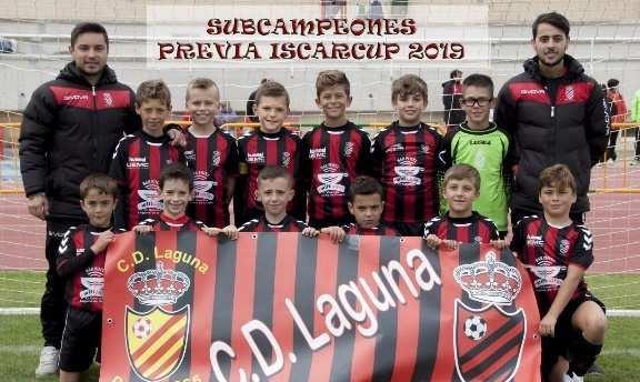 El C.D Laguna, subcampeón en las previas de la Íscar Cup