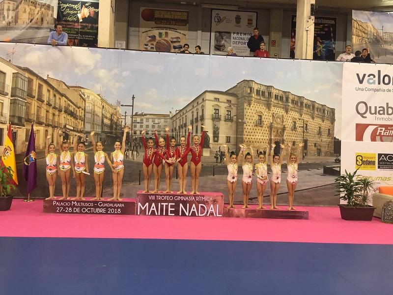 Claudia Ramos, Julia López, Mónica Vázquez y Leticia Nebreda, oro y Plata en Torneo Nacional Maite Nadal
