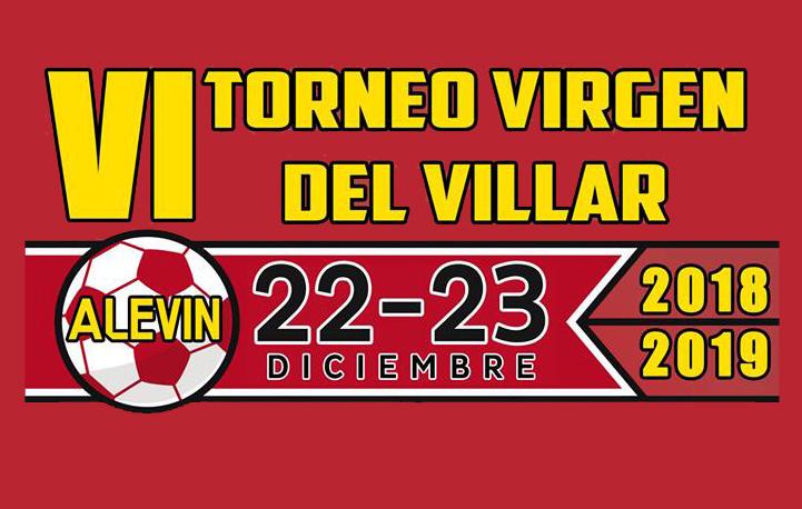 El VI Torneo Virgen del Villar Alevín se celebrará el 22 y 23 de Diciembre