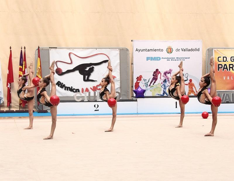 Las gimnastas laguneras brillan en el Nacional de Gimnasia Rítmica