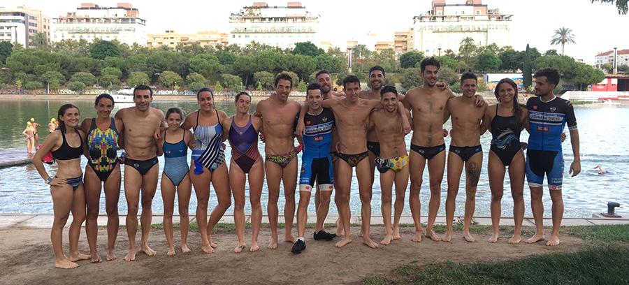 El C.D. Triatlón Laguna centra esfuerzos en potenciar su equipo femenino