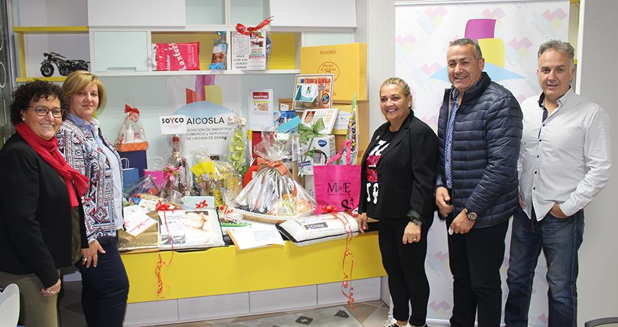 AICOSLA regala una cesta estas Navidades por valor de 1.500 euros