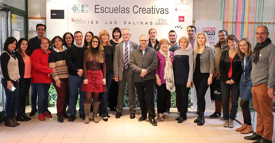 El proyecto REVER de transformación educativa del IES Las Salinas se internacionaliza