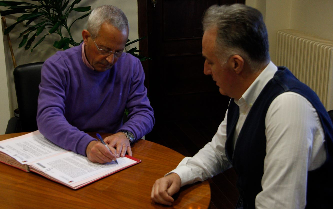 Ayuntamiento y AICOSLA ratifican su apuesta por el comercio de cercanía