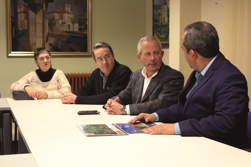 Una delegación guatemalteca visita el Ayuntamiento de Laguna de Duero
