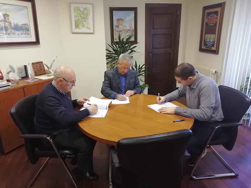 La Fase I de Torrelago y el Ayuntamiento firman un acuerdo de colaboración