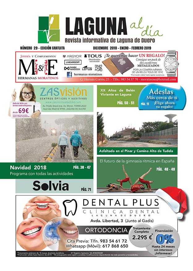 Portada de la vigésimnovena edición de la revista Laguna al Día