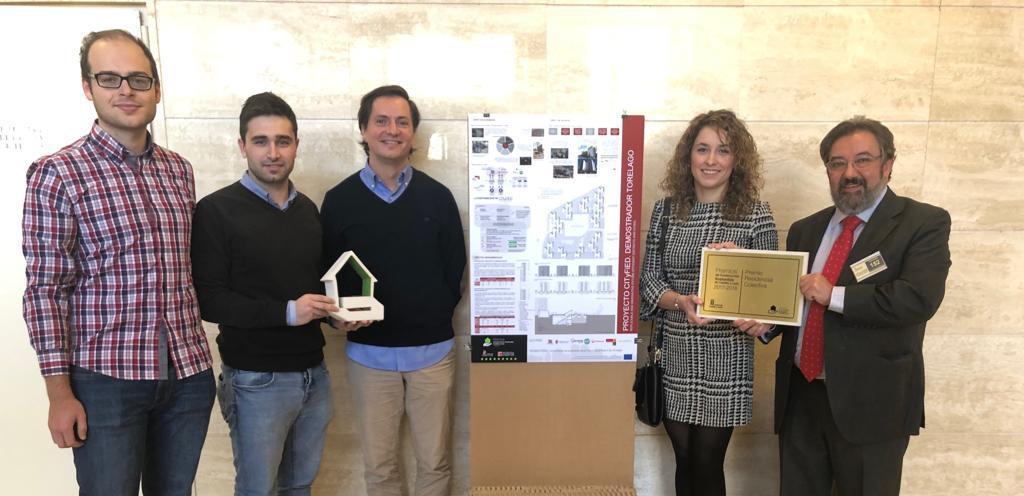 El proyecto CITyFIED reconocido en los Premios de Construcción Sostenible de Castilla y León