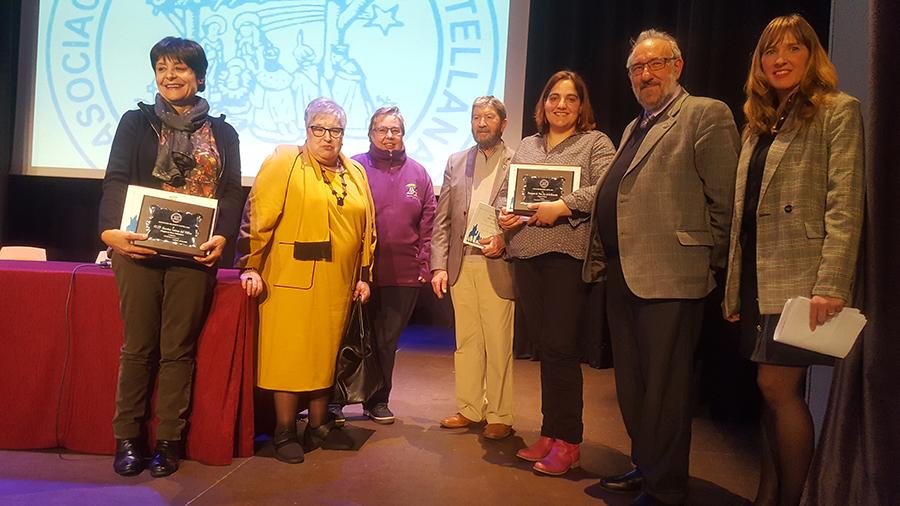 Dos belenes de Laguna, galardonados por la Asociación Belenista Castellana