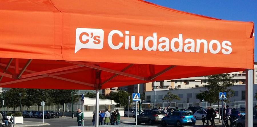 Ciudadanos instalará este sábado una carpa para recoger inquietudes vecinales