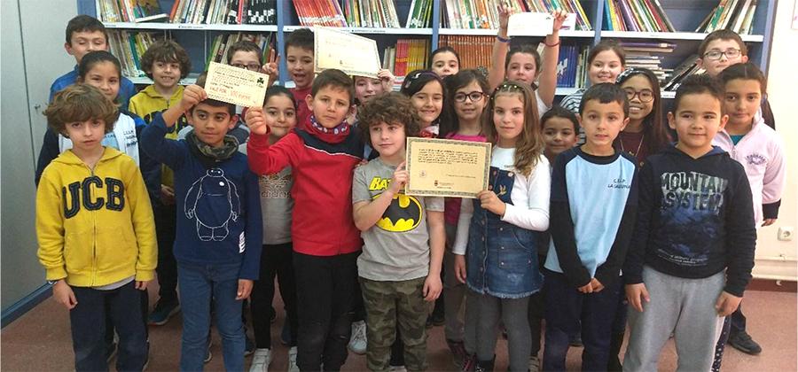 Los alumnos del CEIP La Laguna, galardonados por su conciencia sobre el reciclaje