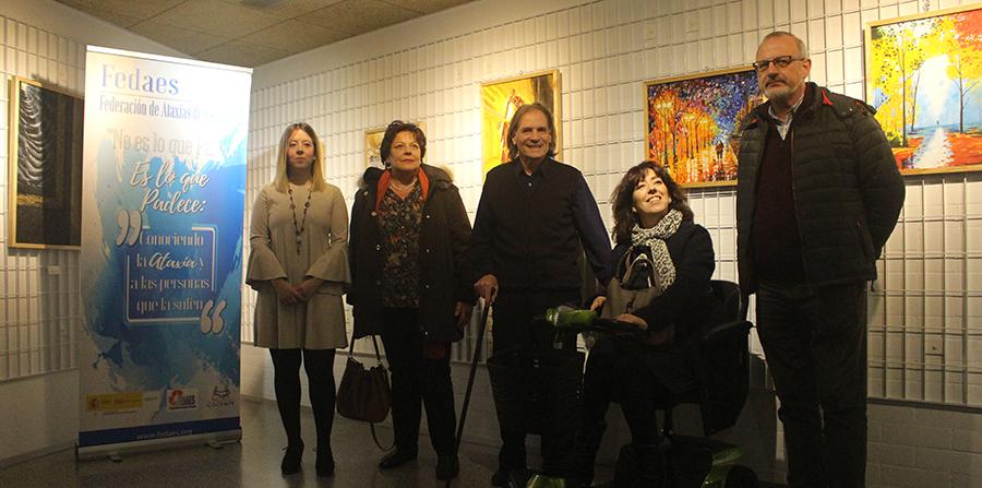 Antonio Turienzo rompe sus limitaciones a través de la pintura