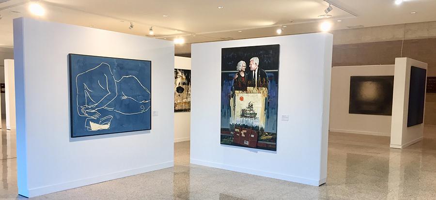 La sede de las Cortes mantiene abiertas las puertas de la exposición 'Cataluña en el corazón de Castilla y León'