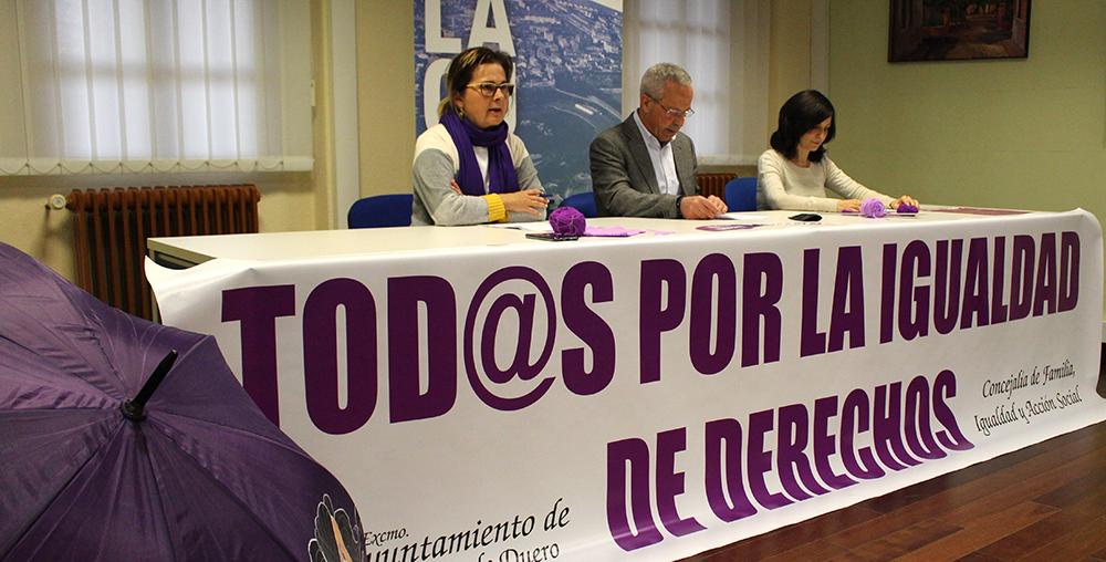 Laguna reivindica los derechos de las mujeres con un mes de actividades