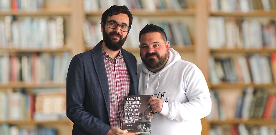 Javier García y Rodrigo Antonio Reglero se sumergen en el género policíaco en su segunda novela