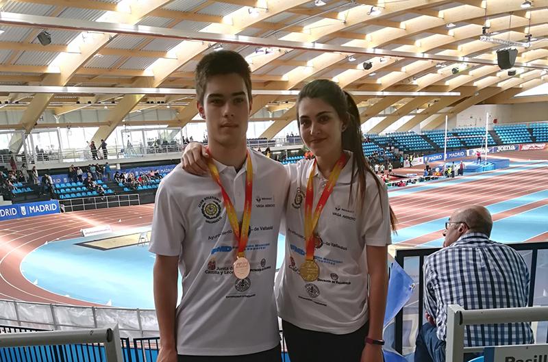Laura Martín, campeona de España sub 20 en altura