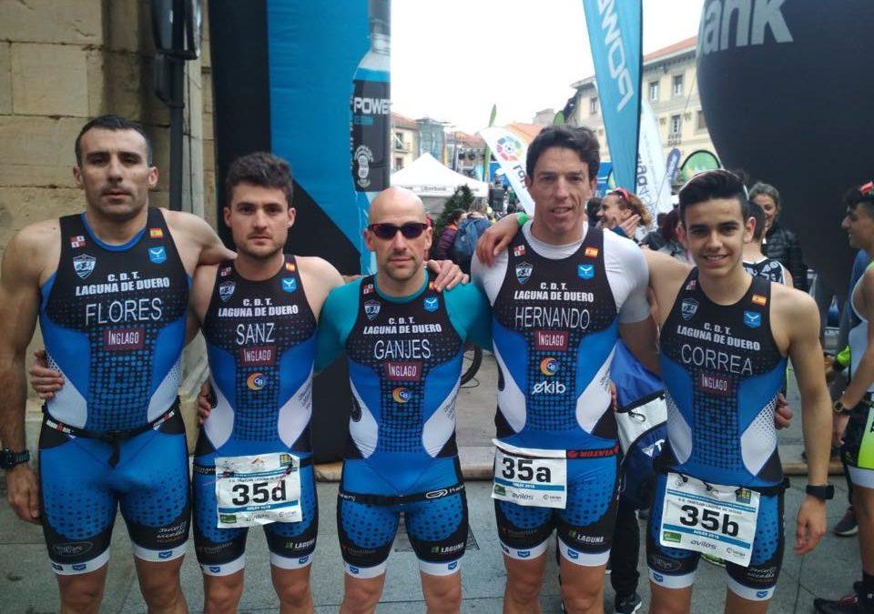 El C.D. Triatlón Laguna de Duero arranca motores a nivel nacional