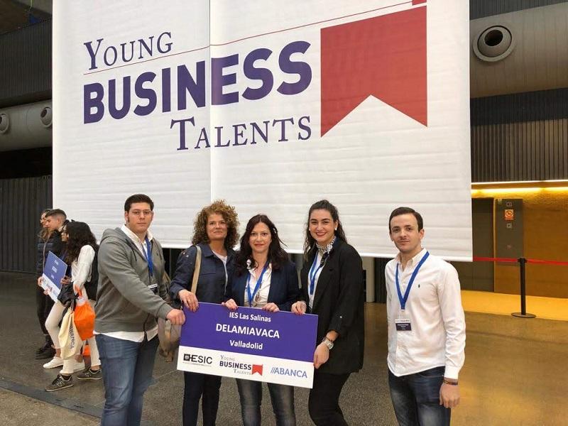 Alumnos del IES Las Salinas, entre los mejores empresarios virtuales de España