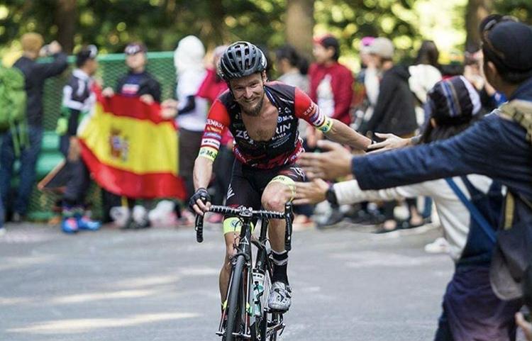 Óscar Pujol, ex ciclista profesional,  ficha por el C.D Triatlón Laguna de Duero