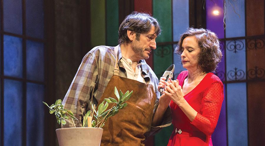 Carmelo Gómez y Ana Torrent, en escena este viernes en la Casa de las Artes