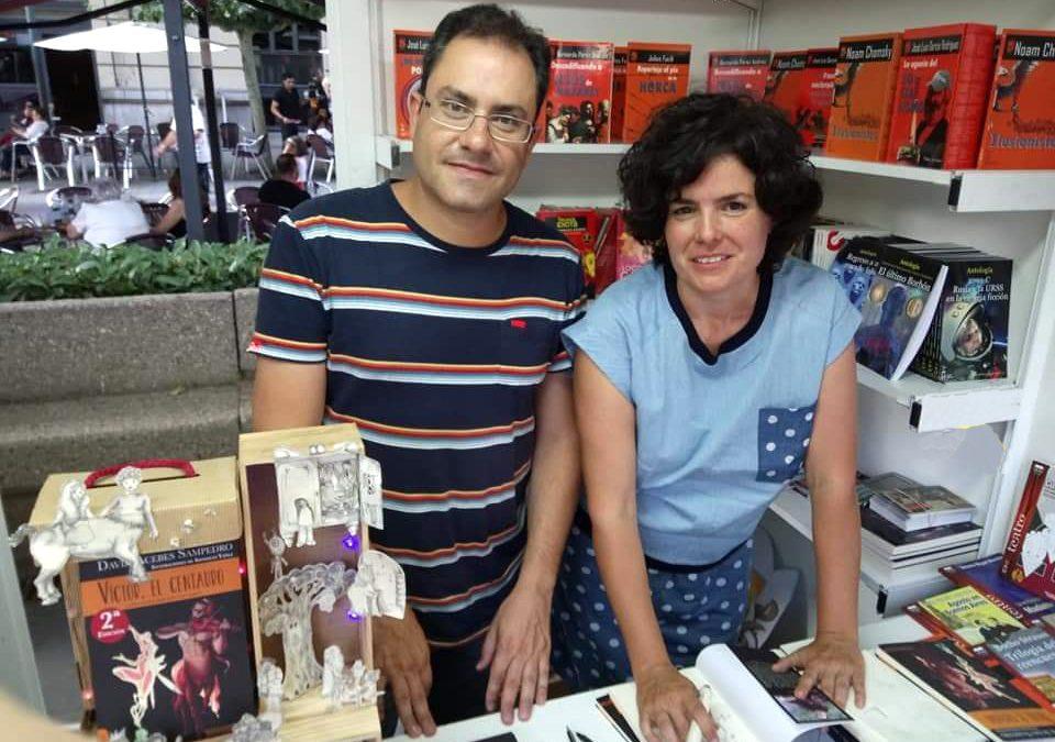 La ilustradora lagunera Sonsoles Yáñez publica su segundo libro junto a David Acebes Sampedro