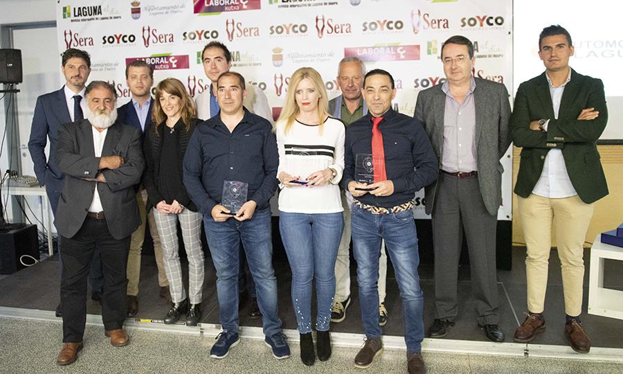 Automóviles Laguna, Valeria Cuestas yRedburger, galardonados con los IV Premios Empresariales de Laguna
