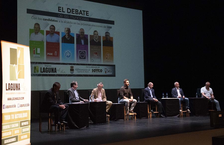 Avanzar hacia un Laguna mejor, objetivo común de los seis candidatos participantes en 'El debate de las municipales'