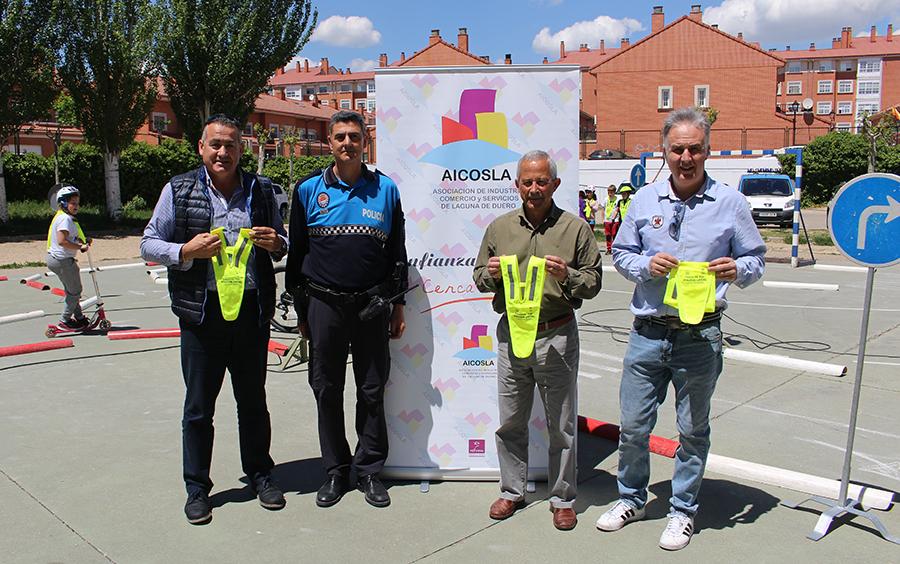 Ayuntamiento, Policía Local y AICOSLA, unidos de nuevo por la educación vial