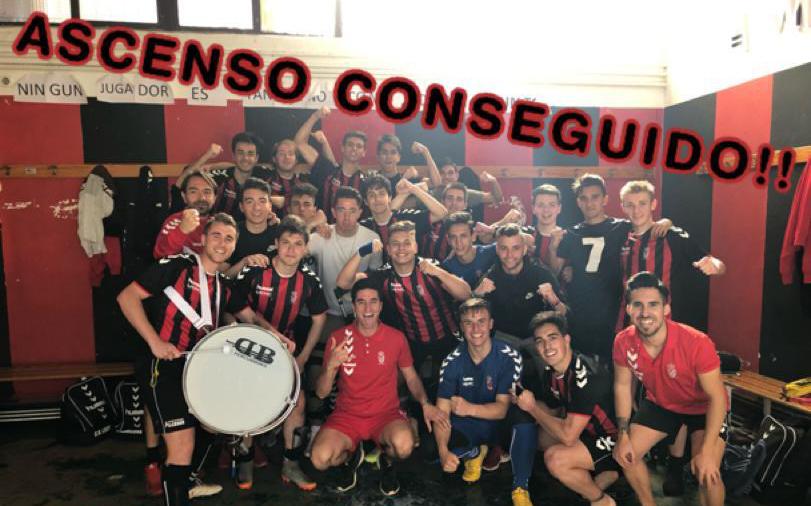 El equipo juvenil del C.D. Laguna logra el ascenso a la liga Recoletas