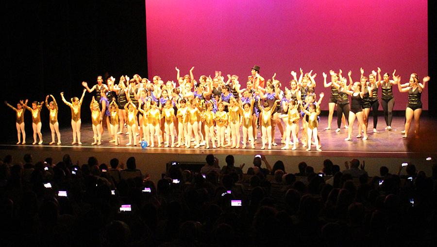 La Escuela de Danza Clásica y Flamenco despide el curso en clave circense
