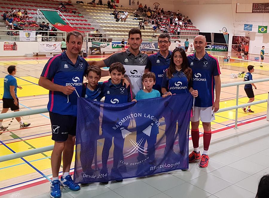 El C.D. Bádminton Laguna destaca en el XII Torneo Luso-Español de Évora