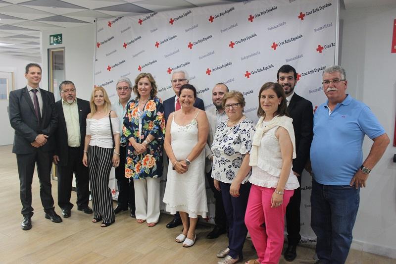Mª del Pilar Feijoo toma posesión como presidenta comarcal de Cruz Roja Laguna