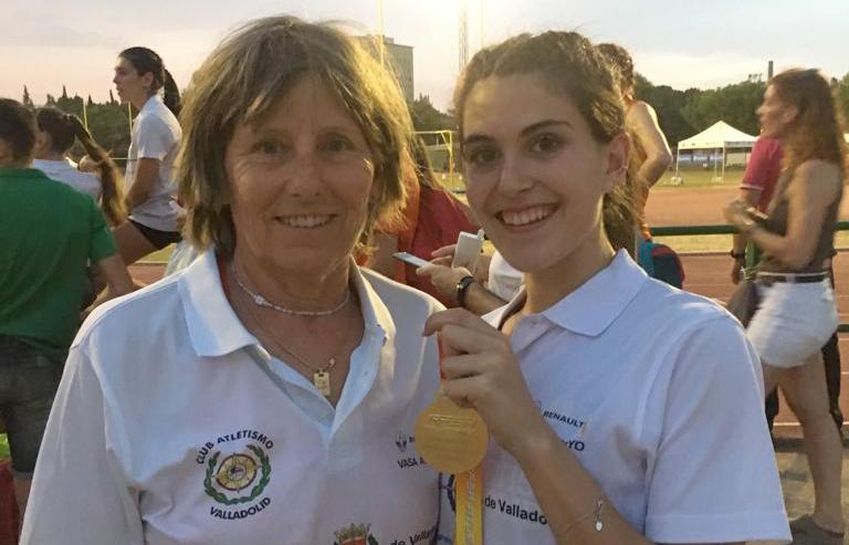 Dos oros para Laura Martín en Campeonato de España Junior de Atletismo