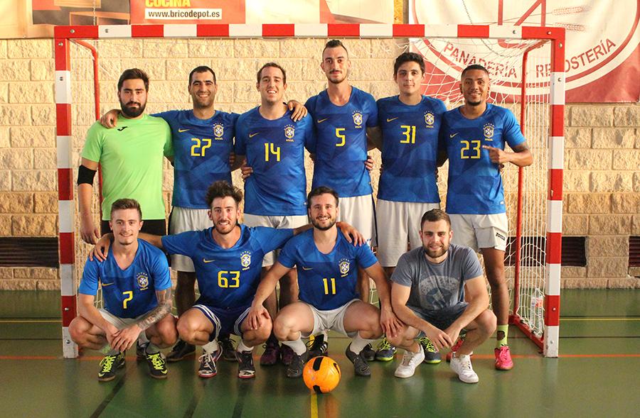 'Los hijos de la Mari Luz' vuelven a imponerse en el Torneo de Fútbol Sala de Peñas