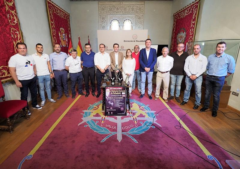 Presentada la XXVI edición del Trofeo Diputación de Valladolid de Fútbol