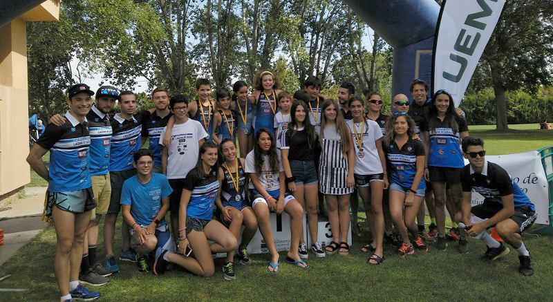 El VI Swim & Run de Laguna de Duero recibe a 36 menores en una jornada de deporte y diversión