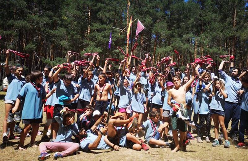 El Grupo Scout Laguna abre sus puertas decidido a potenciar su cantera