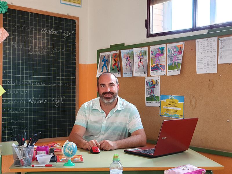 Alejandro Herrán, entre los mejores docentes de España