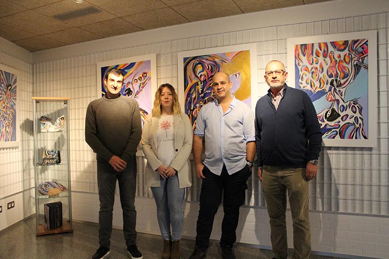 Juan Carlos Velasco lleva su obra pictórica a la Casa de las Artes
