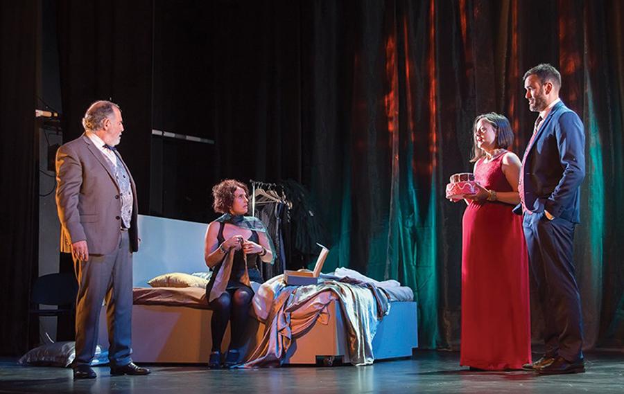 El ciclo 'X Amor al arte' arranca con 'La Gata', de Athenea Teatro