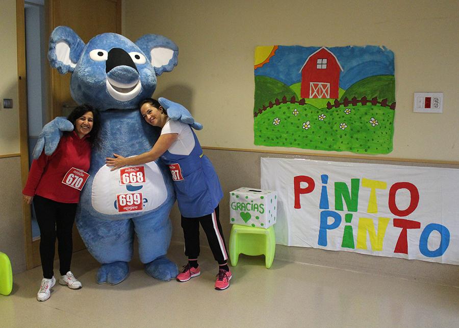 """La Escuela """"Pinto Pinto"""" celebra una carrera solidaria"""