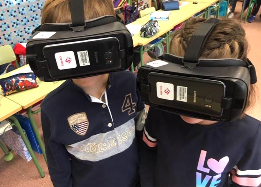 El CEIP La Laguna lleva la realidad virtual a sus aulas